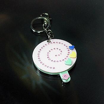 壓克力鏡子鑰匙圈